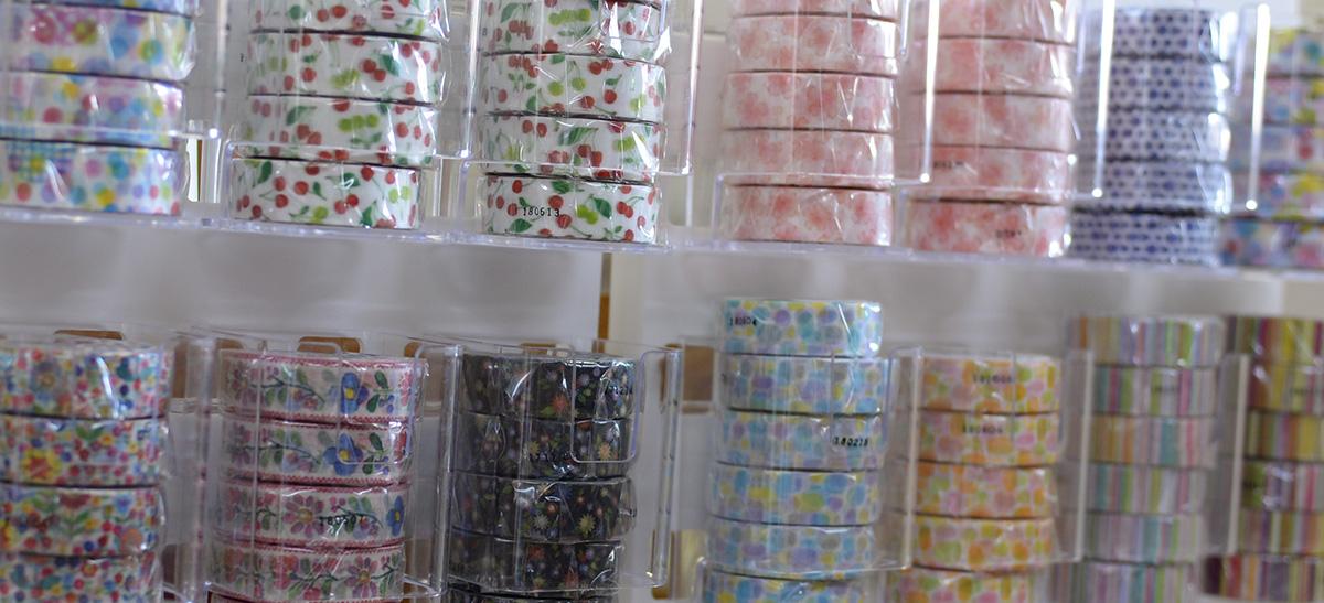 欲しい紙雑貨がきっと見つかる!マスキングテープ発祥の地 倉敷を巡る旅