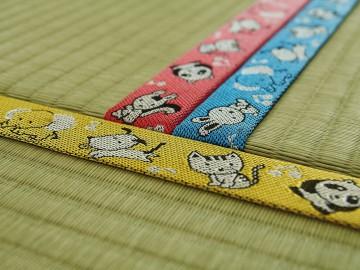 畳縁製造工場の見学とミニ畳製作体験(高田織物)