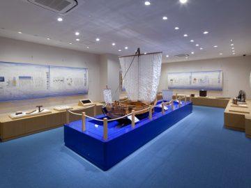 玉島市民交流センター歴史民俗海洋資料展示室